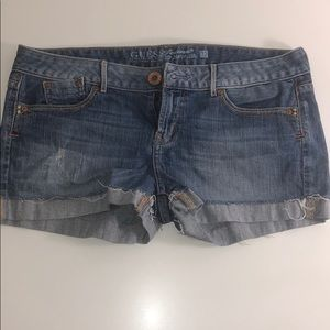 Guess jean shorts